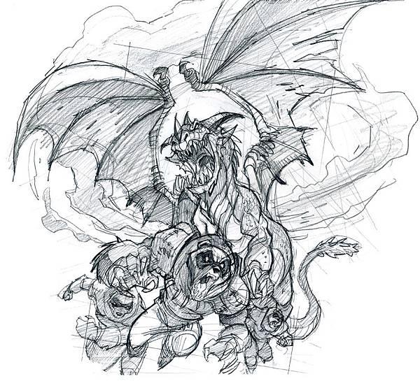 龍與獸鉛筆稿.jpg