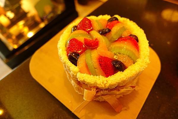 料多新鮮的水果蛋糕2