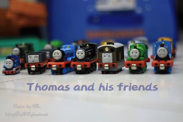 車子-湯瑪士小火車