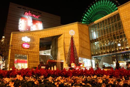 台灣美麗華的聖誕樹