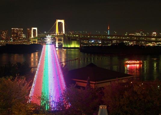 台場海濱公園 (台場クリスマス)