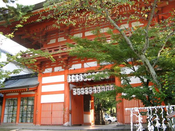 八坂神社內