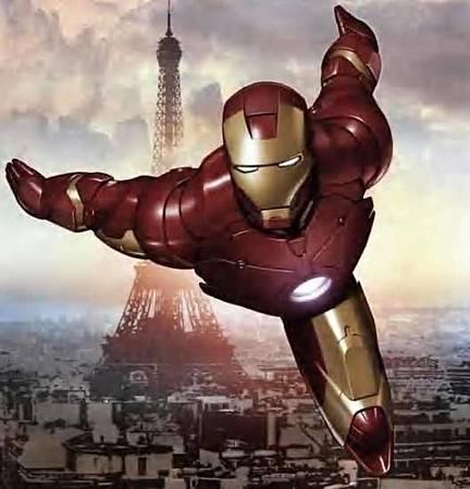 鋼鐵人的盔甲可以承載並舉起100噸重的物體