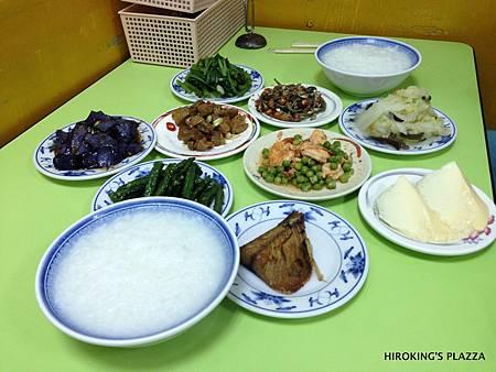 [台北宵夜美食推薦]---阿嬌清粥小菜