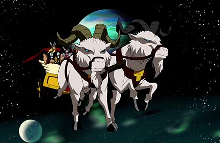 雷神的座騎是「山羊」?