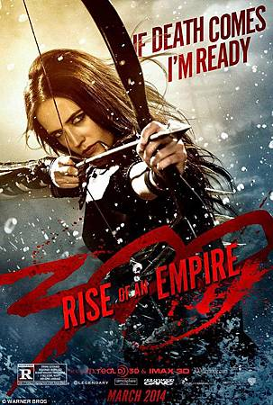 影評「300壯士:帝國崛起」---技術突出,內容空洞!