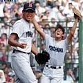 當年在甲子園出賽的松坂大輔