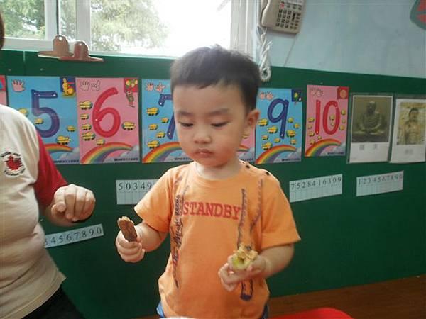 Cooking Class~ 芹菜抹上花生醬-1