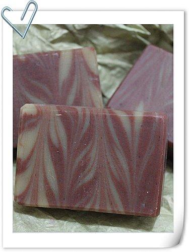 No.40 珊瑚紅石泥渲染皂