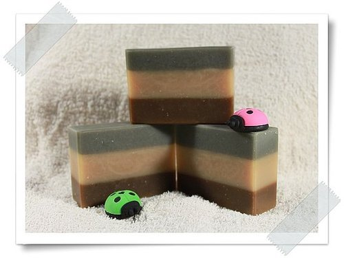 No.71 備長碳玉容散分層皂
