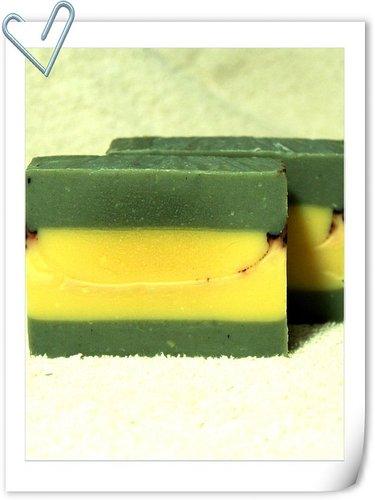 No.87 青黛胡蘿蔔分層皂