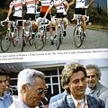 上: 80年代Boifava領導的偉大Carrera車隊由左至右 : Zimmermann ,Maechler ,Leali . Visentcarrera V-R005