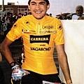 c1990年的環法賽,CHIAPPUCCI令人驚奇地穿上黃衫。 001