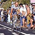 1994年環法賽,新手Pantani在登山路段的戰鬥精神