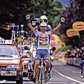 1994年Pantani第一次獲得環義單站冠軍
