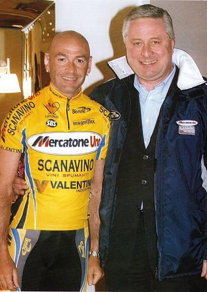 2003年Pantani藉由Boifava的幫助,嘗試重新出發。