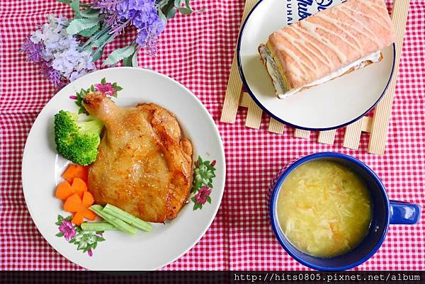 宅配-KAWA巧活食品紅椒檸檬雞腿排/享受美味/輕鬆料理
