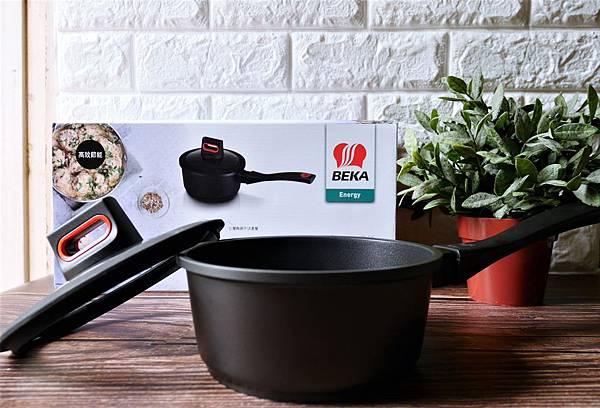 不沾鍋推薦-BEKA貝卡 黑鑽陶瓷單柄附蓋湯鍋.陶瓷不沾鍋.輕鬆使用好上手!