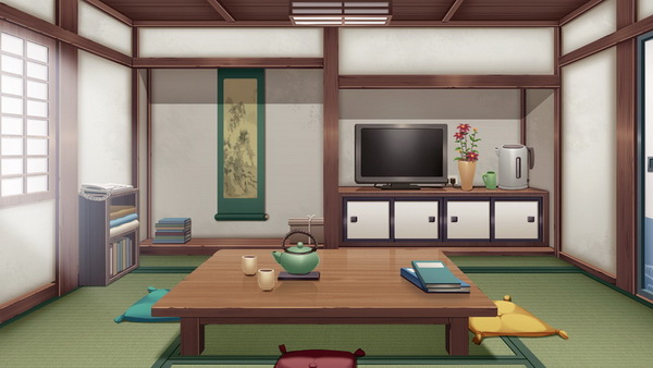 副本神社-客廳-上色3