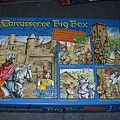 卡卡頌Carcassonne大盒子(基本款+四個擴充)