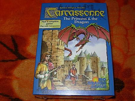 卡卡頌Carcassonne公主與火龍版
