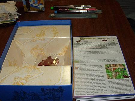 卡卡頌Carcassonne公主與火龍版內容2