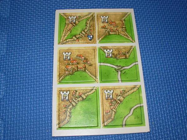 卡卡頌Carcassonne公主與火龍版公主地圖