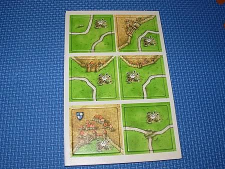 卡卡頌Carcassonne公主與火龍版任意門(魔法門)地圖