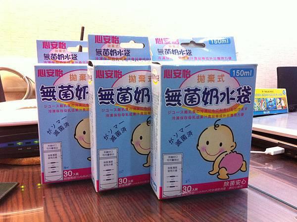 新安怡母乳袋150ml 85個