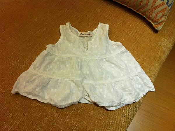 PIPPY ITALIAN 女童無袖上衣Size 100