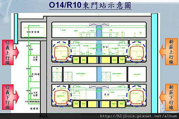 MRT東門站4
