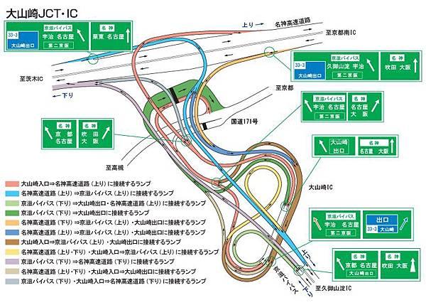 大山崎JCT-4