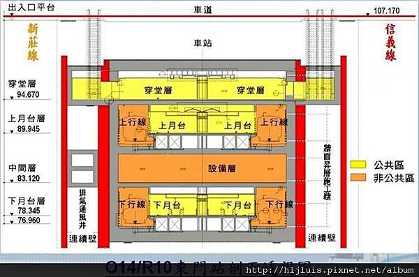 MRT東門站8