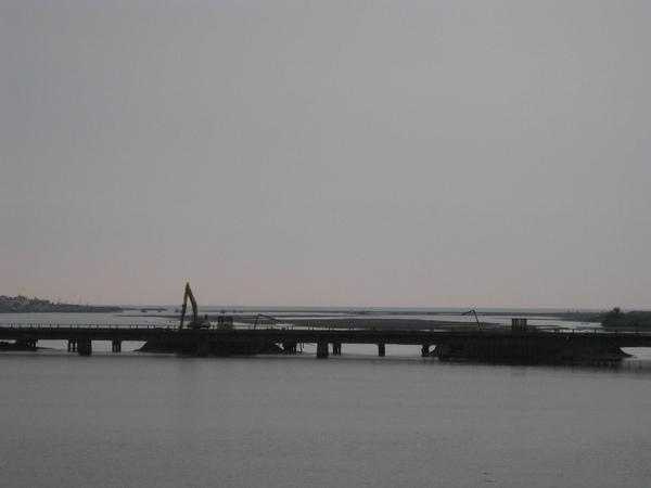 台鐵林邊溪橋工程2009/06