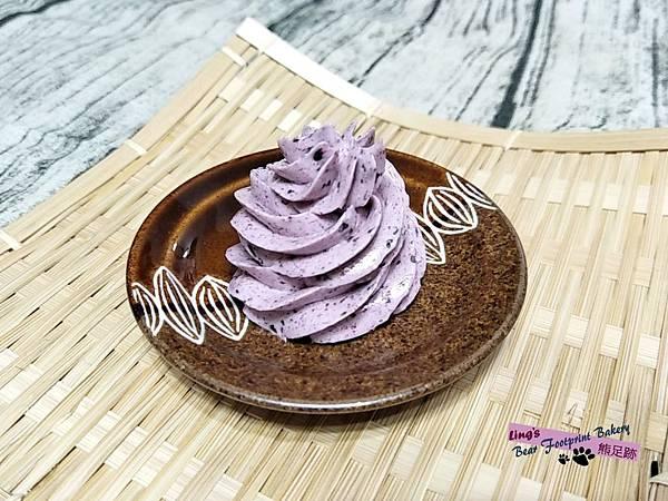 藍莓瑞士奶油霜 熊足跡 (34)