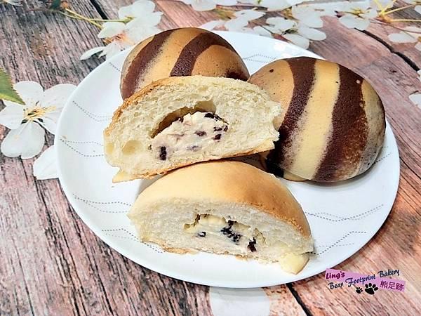 墨西哥麵包(乳酪蔓越莓餡) 熊足跡 (64)