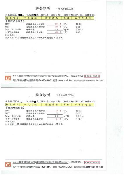 酒精肝合併脂肪肝(網站)
