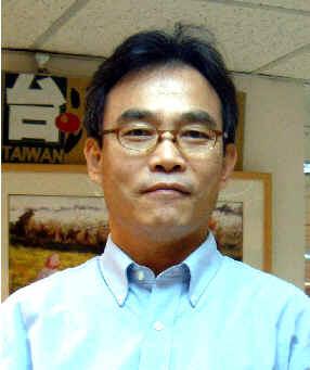 台灣日報擔任副總經理時期的蔡宏明(時50歲)