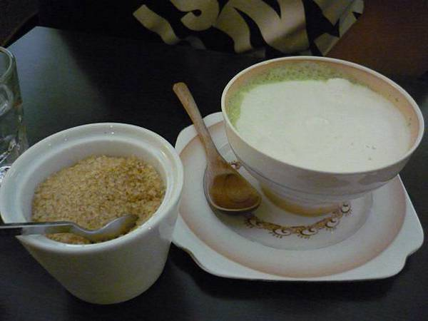 抹茶豆奶歐蕾