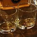 試飲的杯子是橢圓形的