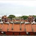 天公廟直接面對的太平洋,視野寬闊