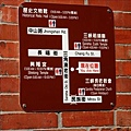 老街位置圖,我們是從民族街往長福街移動