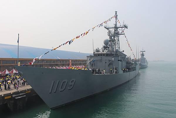成功級飛彈巡防艦(張騫號)