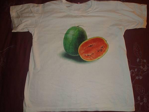 相片印刷西瓜T恤