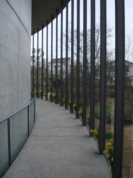 圓弧型的迴廊