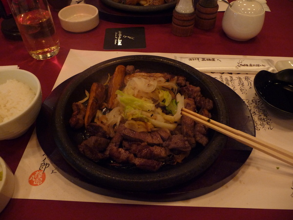 傳說中的神戶牛排?