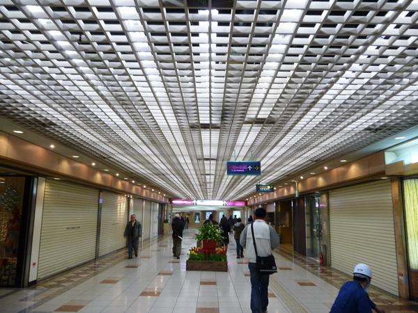 岡山車站的地下街