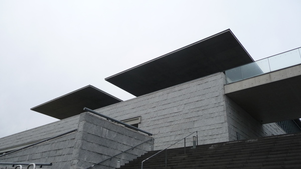 蛋型結構體的屋頂