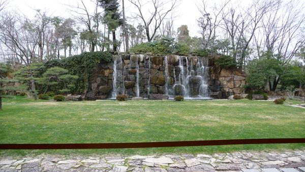 飯店的庭院