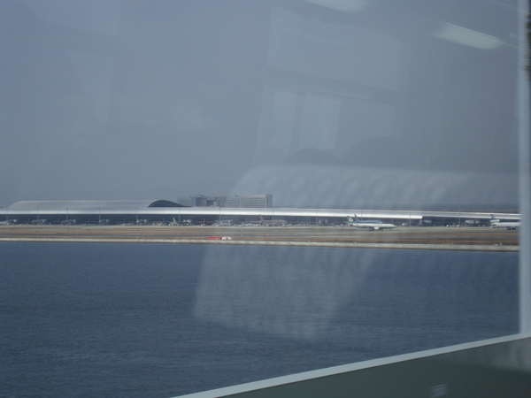 看到關西空港了